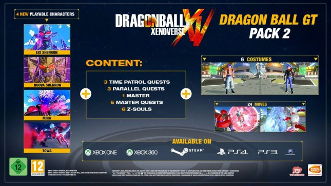 xenoverse-gt-pack-2